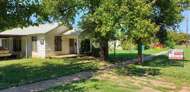 709 N Main Street, Electra, TX 76360 (MLS #154485) :: WichitaFallsHomeFinder.com