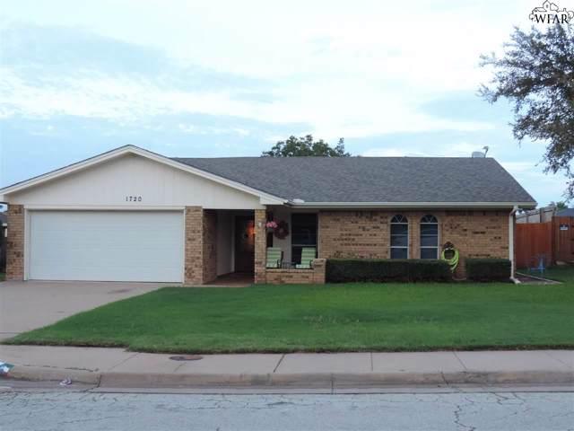 1720 Meadowcliff Drive, Wichita Falls, TX 76302 (MLS #154497) :: WichitaFallsHomeFinder.com