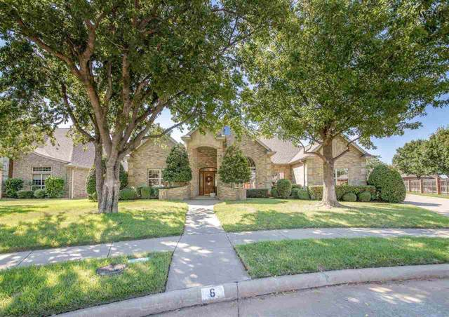 6 Brass Lantern Court, Wichita Falls, TX 76308 (MLS #154535) :: WichitaFallsHomeFinder.com