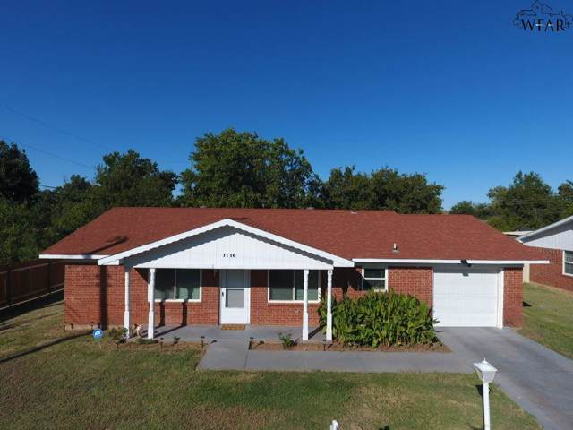 1116 Ridgeway Drive, Wichita Falls, TX 76306 (MLS #154602) :: WichitaFallsHomeFinder.com