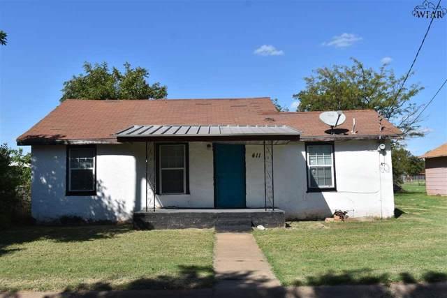 411 W Pecan Street, Archer City, TX 76351 (MLS #154610) :: WichitaFallsHomeFinder.com
