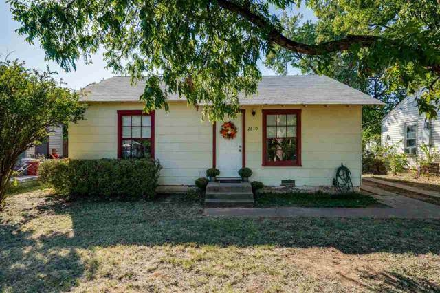 2610 Sherman Road, Wichita Falls, TX 76309 (MLS #154628) :: WichitaFallsHomeFinder.com