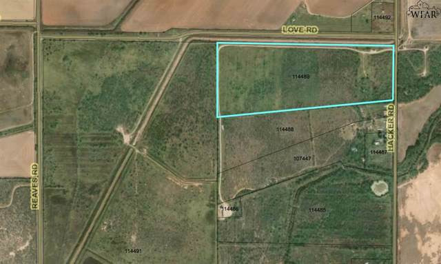 33.86 Acres Hacker Road, Iowa Park, TX 76367 (MLS #154677) :: WichitaFallsHomeFinder.com