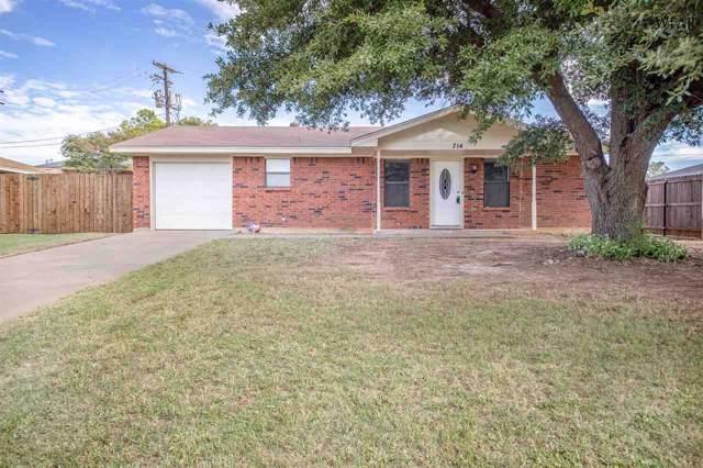 714 W Louisa Avenue, Iowa Park, TX 76367 (MLS #154705) :: WichitaFallsHomeFinder.com
