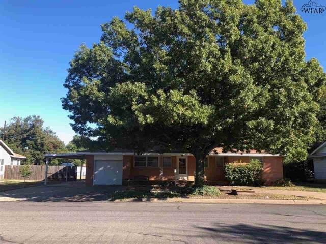 407 Peach Street, Burkburnett, TX 76354 (MLS #154861) :: WichitaFallsHomeFinder.com