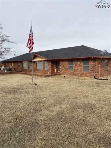 1821 S Hwy 114, Megargel, TX 76370 (MLS #155222) :: WichitaFallsHomeFinder.com