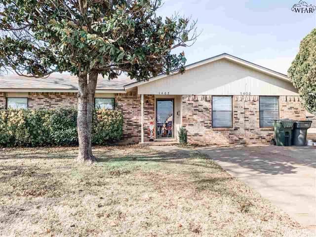 1402 Ruidosa Drive, Wichita Falls, TX 76306 (MLS #155225) :: WichitaFallsHomeFinder.com
