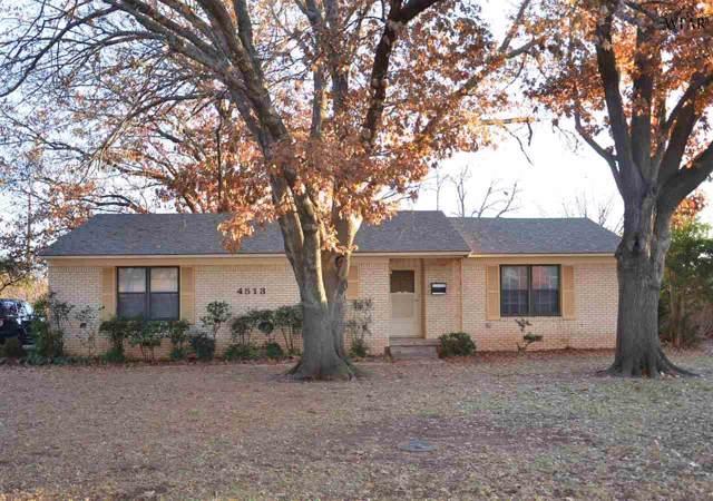 4513 Wynnwood Drive, Wichita Falls, TX 76310 (MLS #155286) :: WichitaFallsHomeFinder.com