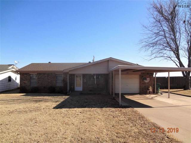 302 S Louisiana Court, Electra, TX 76360 (MLS #155298) :: WichitaFallsHomeFinder.com