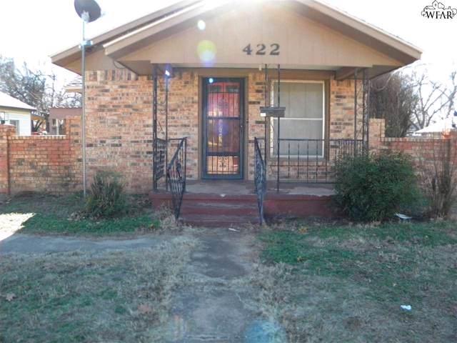 422 Glendale Drive, Burkburnett, TX 76354 (MLS #155396) :: WichitaFallsHomeFinder.com