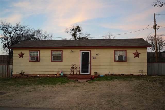 410 W Pecan, Iowa Park, TX 76367 (MLS #155524) :: WichitaFallsHomeFinder.com