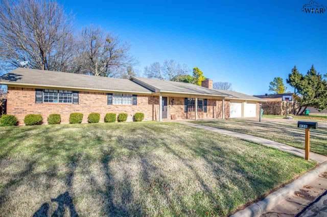 938 Kiowa Drive, Burkburnett, TX 76354 (MLS #155581) :: WichitaFallsHomeFinder.com