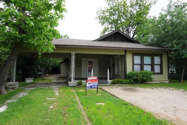 1617 Collins Avenue, Wichita Falls, TX 76301 (MLS #155630) :: WichitaFallsHomeFinder.com