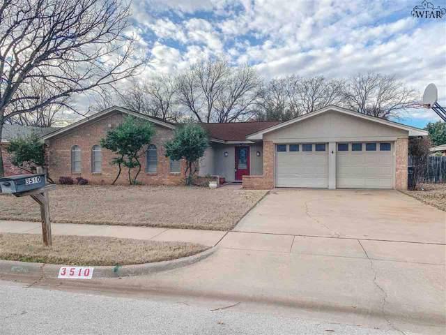 3510 Windsor Lane, Wichita Falls, TX 76308 (MLS #155637) :: WichitaFallsHomeFinder.com