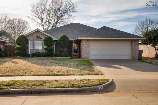 11 Periwinkle Drive, Wichita Falls, TX 76310 (MLS #155893) :: WichitaFallsHomeFinder.com