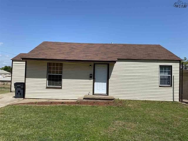 601 Sunset Drive, Wichita Falls, TX 76301 (MLS #156485) :: Bishop Realtor Group