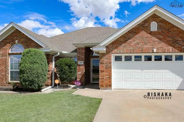 2105 E Hunters Glen, Wichita Falls, TX 76306 (MLS #156823) :: WichitaFallsHomeFinder.com