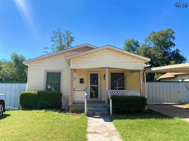606 E 4TH STREET, Burkburnett, TX 76354 (MLS #157560) :: Bishop Realtor Group