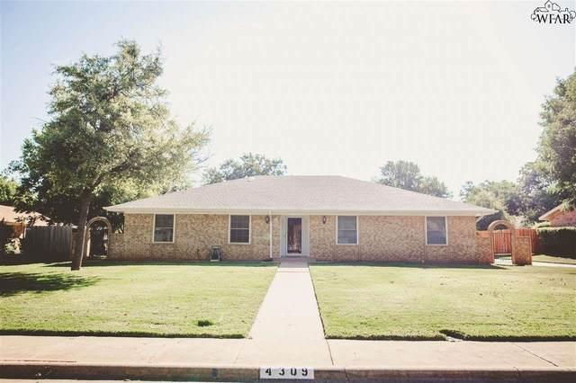 4309 Craigmont Drive, Wichita Falls, TX 76309 (MLS #157829) :: WichitaFallsHomeFinder.com