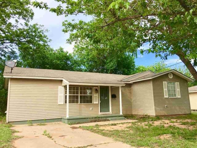 1101 Shady Lane, Burkburnett, TX 76354 (MLS #158146) :: WichitaFallsHomeFinder.com