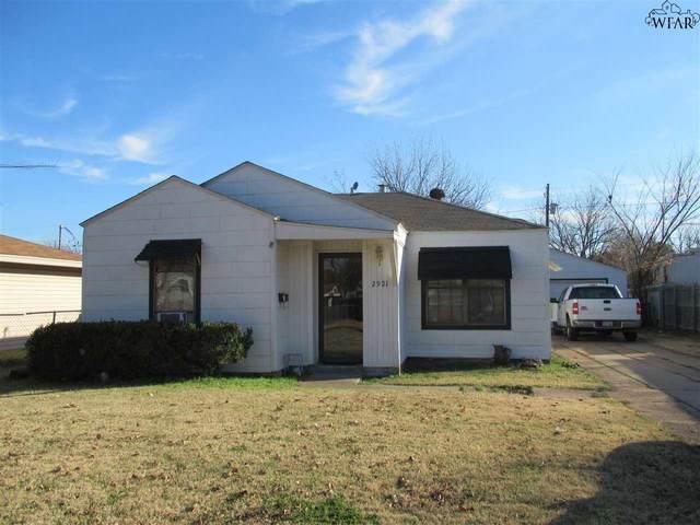 2921 Lavell Avenue, Wichita Falls, TX 76308 (MLS #158846) :: WichitaFallsHomeFinder.com