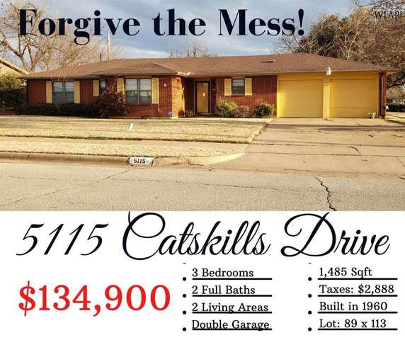 5115 Catskills Drive, Wichita Falls, TX 76310 (MLS #159508) :: Bishop Realtor Group