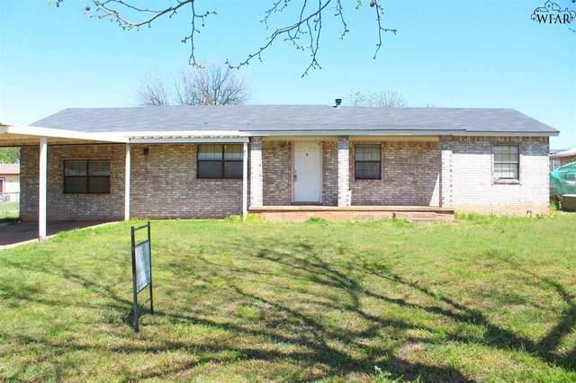 408 W Pecan Avenue, Iowa Park, TX 76367 (MLS #159920) :: WichitaFallsHomeFinder.com