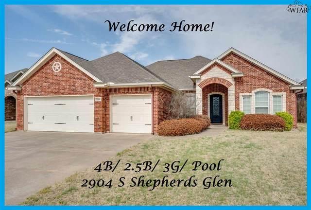 2904 S Shepherds Glen, Wichita Falls, TX 76308 (MLS #159932) :: Bishop Realtor Group