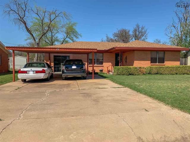 508 W Aldine Street, Iowa Park, TX 76367 (MLS #159956) :: WichitaFallsHomeFinder.com
