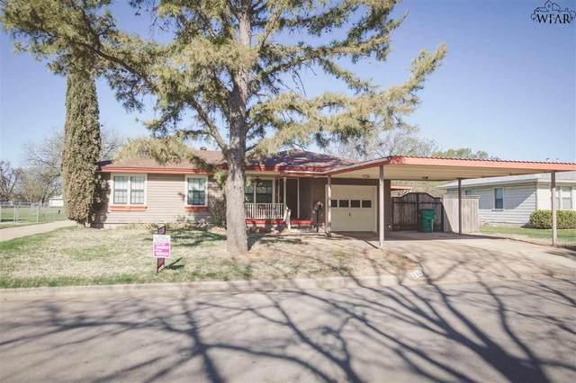 206 Mimosa Street, Burkburnett, TX 76354 (MLS #160130) :: WichitaFallsHomeFinder.com