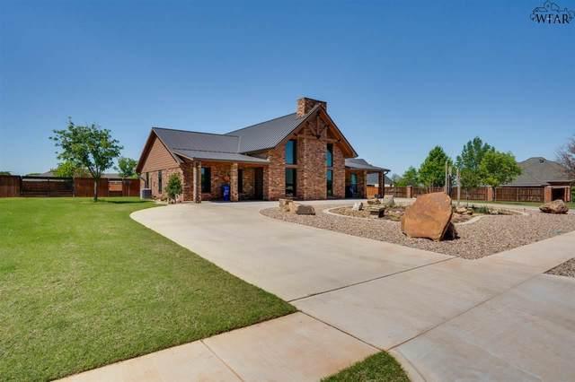1721 Eagle Ridge Circle, Wichita Falls, TX 76309 (MLS #160174) :: Bishop Realtor Group