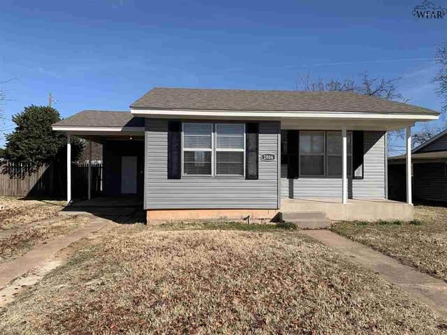 2806 Stearns Avenue, Wichita Falls, TX 76308 (MLS #160340) :: WichitaFallsHomeFinder.com