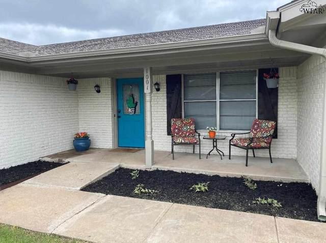1001 Pawhuska Lane, Burkburnett, TX 76354 (MLS #160672) :: WichitaFallsHomeFinder.com