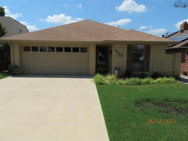 1523 Carol Lane, Wichita Falls, TX 76302 (MLS #160814) :: WichitaFallsHomeFinder.com