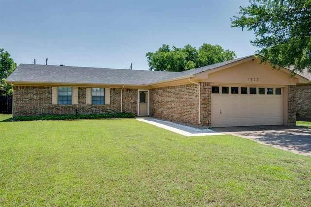 1607 Bert Drive, Wichita Falls, TX 76302 (MLS #160817) :: WichitaFallsHomeFinder.com
