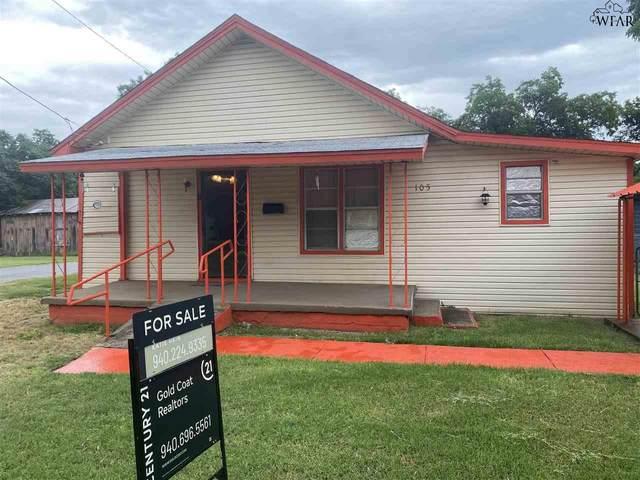 105 S Wigham Street, Burkburnett, TX 76354 (MLS #160884) :: Bishop Realtor Group