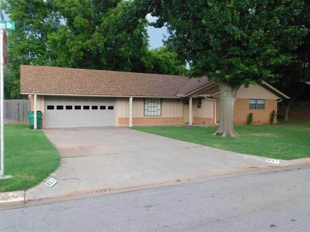 801 Aztec Drive, Burkburnett, TX 76354 (MLS #161011) :: WichitaFallsHomeFinder.com