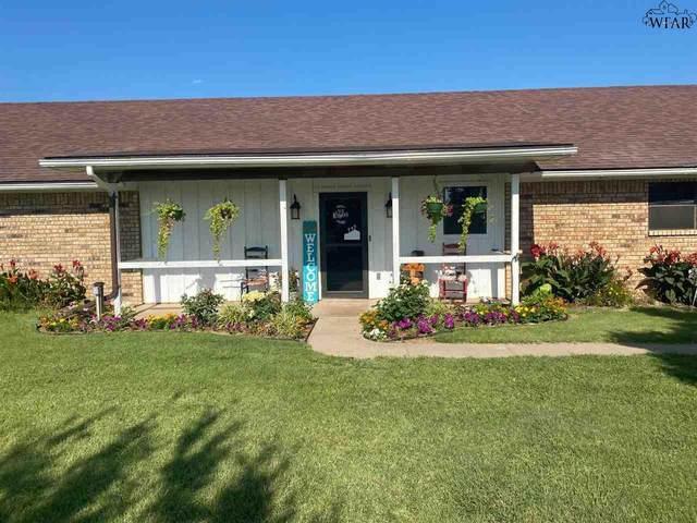 824 Burnett Ranch Road, Electra, TX 76360 (MLS #161068) :: WichitaFallsHomeFinder.com