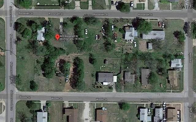 805 Roosevelt Street, Wichita Falls, TX 76301 (MLS #161398) :: WichitaFallsHomeFinder.com
