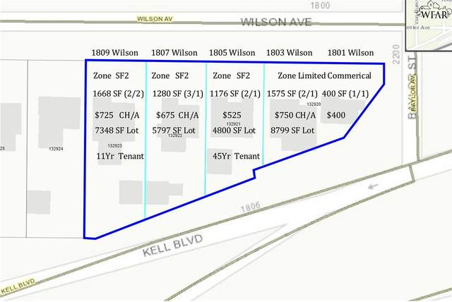 1809 Wilson Avenue, Wichita Falls, TX 76301 (MLS #161722) :: Bishop Realtor Group