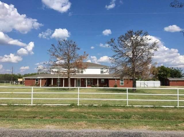 1911 S Peterson Road, Iowa Park, TX 76367 (MLS #161784) :: Bishop Realtor Group