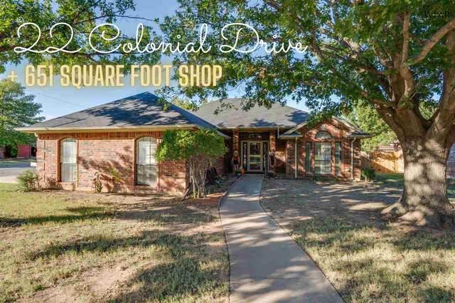 22 Colonial Drive, Wichita Falls, TX 76306 (MLS #162396) :: Bishop Realtor Group