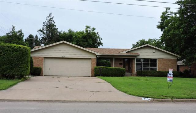 1519 Norman Street, Wichita Falls, TX 76302 (MLS #151804) :: WichitaFallsHomeFinder.com