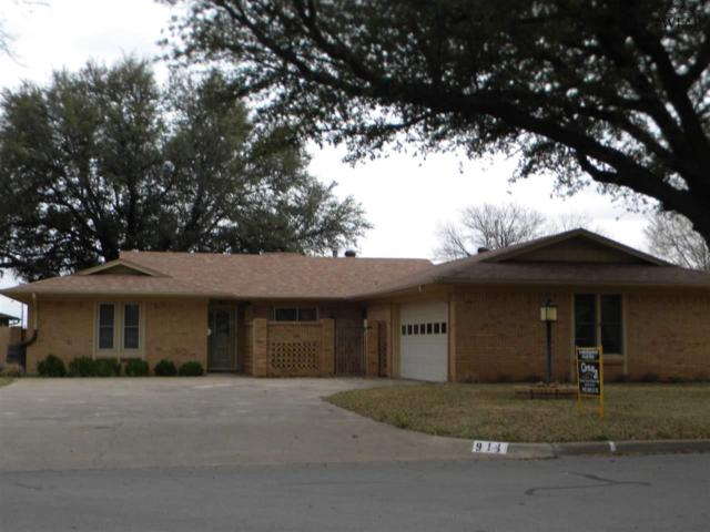 911 Kiowa Drive, Burkburnett, TX 96354 (MLS #152405) :: WichitaFallsHomeFinder.com