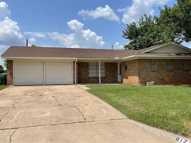 812 Vogel Street, Iowa Park, TX 76367 (MLS #161258) :: WichitaFallsHomeFinder.com