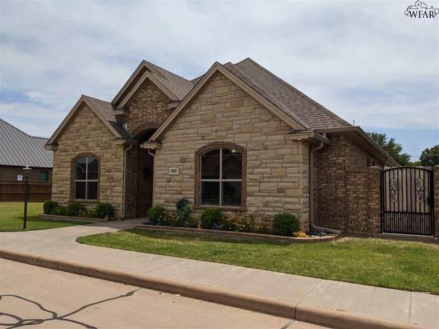 813 Coulter Drive, Burkburnett, TX 76354 (MLS #155204) :: WichitaFallsHomeFinder.com