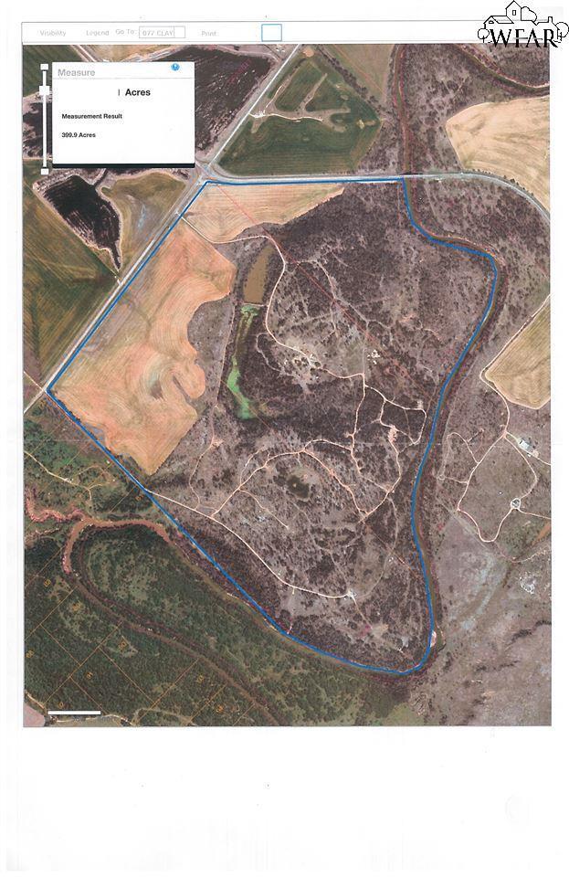 400 Acres Fm 1740, Thornberry, TX 76305 (MLS #148757) :: WichitaFallsHomeFinder.com