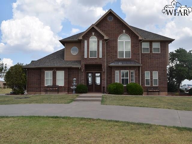 294 Burnett Ranch Road, Electra, TX 76360 (MLS #149695) :: WichitaFallsHomeFinder.com