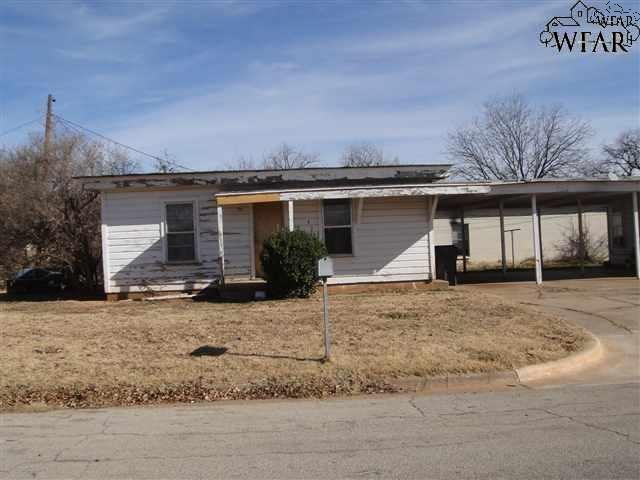 405 N Austin Street, Wichita Falls, TX 76306 (MLS #150009) :: WichitaFallsHomeFinder.com