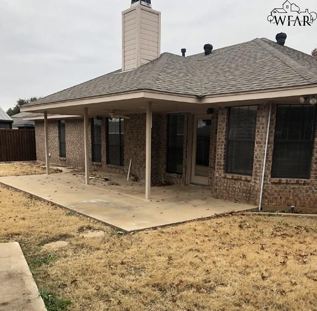 4 Periwinkle Drive, Wichita Falls, TX 76310 (MLS #151372) :: WichitaFallsHomeFinder.com
